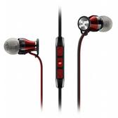【台中平價鋪】全新 德國 聲海 Sennheiser MOMENTUM In-Ear i 紅黑 耳道式線控耳機 適用 iOS 系統
