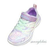 SKECHERS 童鞋 DOUBLE DREAMS 輕量 休閒運動鞋-81421LLVMT 薰衣草紫 [陽光樂活]