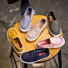 兒童帆布鞋低幫一腳蹬板鞋男童女童鞋韓版潮套腳寶寶鞋 元宵鉅惠 限時免運