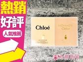 Chloe 小小雙氛派對禮盒 (同名+芳心之旅) 20ml*2◐香水綁馬尾◐