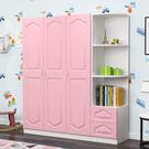 衣櫃 簡約現代經濟型歐式兒童臥室簡易小戶型臥室組裝收納衣櫥
