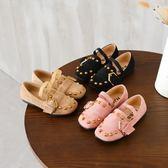 春季兒童鞋女童單鞋公主鞋豆豆鞋