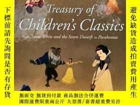 二手書博民逛書店Treasury罕見of Children s Classics: From Snow White and the