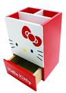 【震撼精品百貨】Hello Kitty 凱蒂貓~HELLO KITTY大臉二收納盒