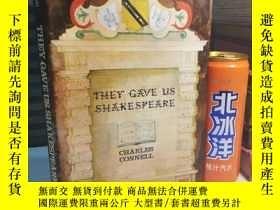 二手書博民逛書店1982年罕見THEY GAVE US SHAKESPEARE