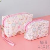 化妝包可愛日系收納袋便攜大容量化妝品袋女手拎【極簡生活】