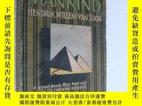 二手書博民逛書店The罕見Story of Mankind:Inc a new
