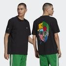 Adidas CRAIG & KARL 男裝 短袖 T恤 休閒 藝術 人臉 純棉 黑【運動世界】HA4690