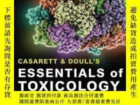 二手書博民逛書店Casarett罕見& Doull s Essentials Of Toxicology, Second Edit