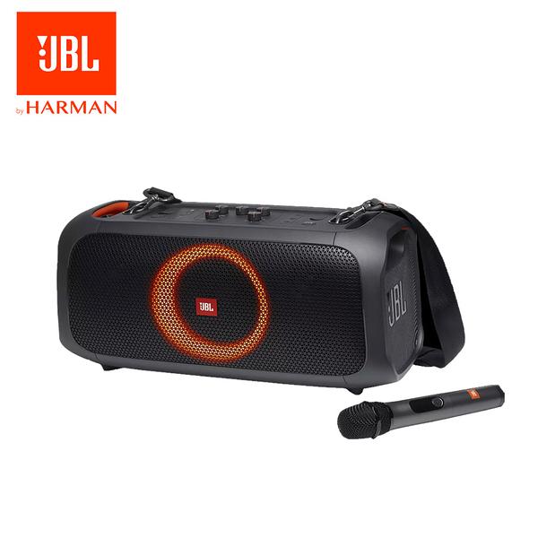 JBL 便攜式 藍牙喇叭 PartyBox On The Go 英大公司貨保固 附2支無線麥克風 (NT-IN)