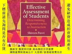 二手書博民逛書店Effective罕見Assessment Of Students: Determining Responsive
