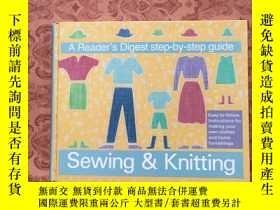 二手書博民逛書店Sewing罕見knitting a reader`s dige