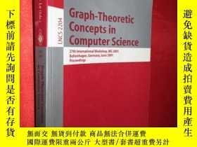 二手書博民逛書店Graph-Theoretic罕見Concepts in Com
