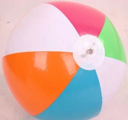 [協貿國際]  沙灘球成人兒童戲水游泳充氣玩具 (2入)