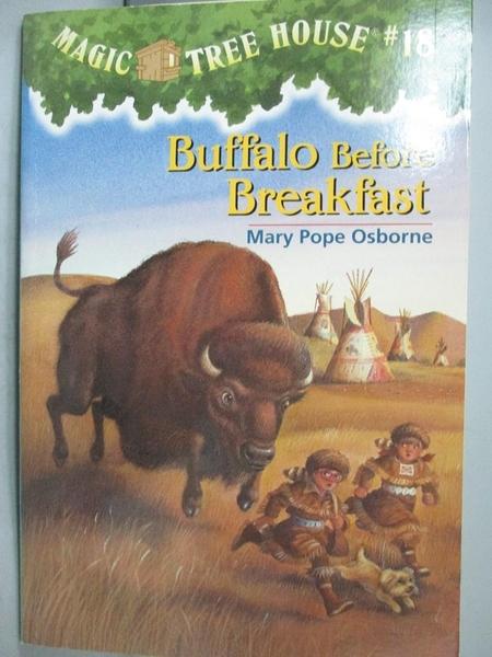【書寶二手書T3/原文小說_MQP】Buffalo Before Breakfast_Osborne, Mary Pop