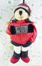 【震撼精品百貨】日本精品百貨~絨毛玩偶-人形熊-女生-紅衣