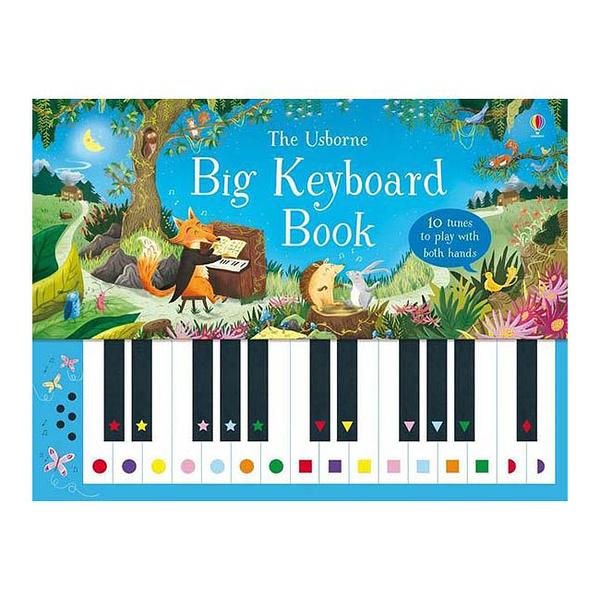 Big Keyboard Book 彈琴音樂趣 鋼琴音樂書