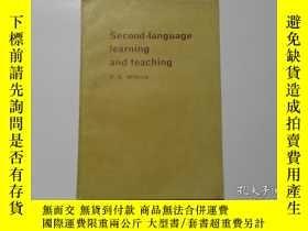 二手書博民逛書店Second-language罕見learning and te