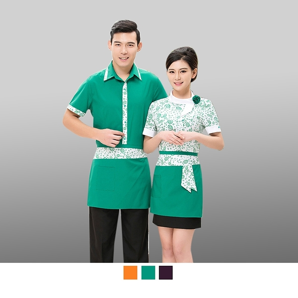 晶輝專業團體制服CH163*面試工作服長袖服務員工裝飯店西餐廳前台經理長袖素面襯衫