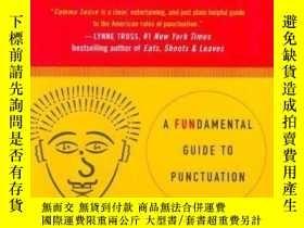 二手書博民逛書店Comma罕見Sense: A Fun-damental Guide To Punctuation-逗號意義:一個
