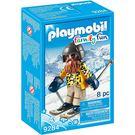 playmobil 滑雪系列 大鬍子滑雪員_PM09284
