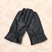手套男士騎行綿羊皮冬季開車摩托車加絨加厚保暖女士薄款『小淇嚴選』