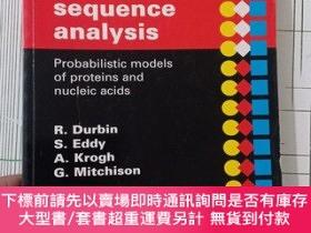 二手書博民逛書店Biological罕見Sequence Analysis:Probabilistic Models of Pro