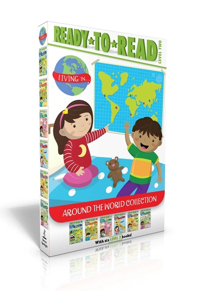 READY TO READ LIVING IN AROUND THE WORLD COLLECTION/L2《英文讀本/世界文化英文分級讀本盒裝套書》