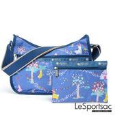 LeSportsac - Standard側背水餃包/流浪包-附化妝包 (羊駝牧場) 7520P F048