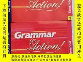 二手書博民逛書店Grammar罕見in action : threshold 1