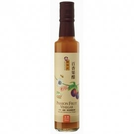 陳稼莊 百香果醋(加糖) Passion Fruit Vinegar (Sugar Added)