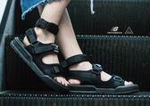 NEW BALANCE 2017 Sandals 韓國 三條帶 涼鞋 黑 高統 忍者鞋 SD4243BK