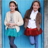 羊羔絨厚外套 素面 保暖外套 寶寶外套 外套 女童 女寶 Augelute 50591