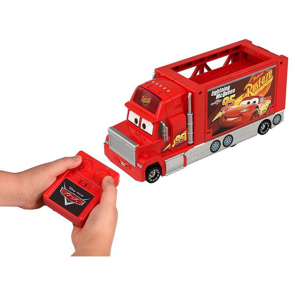 特價 TOMICA CARS 汽車總動員 麥大叔 紅外線遙控收納貨車_ DS13862