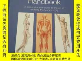二手書博民逛書店Anatomy罕見& Figure Drawing Handbo
