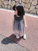 兒童禮服 小童裝女夏裝寶寶洋氣裙子周歲禮服2019新款女童背心裙兒童公主裙