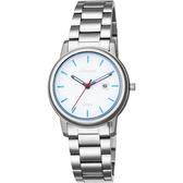 LICORNE力抗 entrée 品味生活時尚手錶-白x藍時標/32mm LT120LWWI-N