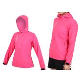 KAPPA 女單層外套(免運 連帽外套 防潑水 抗UV 慢跑 路跑 運動 防風 風衣≡排汗專家≡