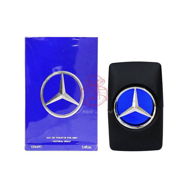 賓士 Mercedes Benz STAR 男性淡香水 100ML【岡山真愛香水化妝品批發館】