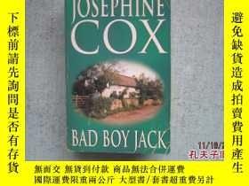 二手書博民逛書店英文原版書罕見JOSEPHINE COX BAD BOY JAC