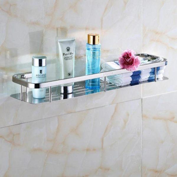 浴室置物架 304不銹鋼單層浴室廁所衛生間置物架LJ8007『黑色妹妹』