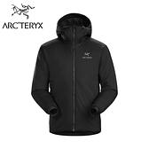 【Arc'teryx 始祖鳥】 Atom AR Hoody 多用途保暖化纖連帽外套 男款 黑色 #24105