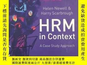 二手書博民逛書店Human罕見Resource Management in Co
