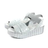 The FLEXX 涼鞋 銀白 厚底 女鞋 E2517_06 no011