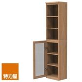 組-特力屋萊特高窄淺木櫃.淺木層板(1入x4).淺玻門