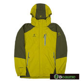 Beaume 防水兩件式外套 男 淺黃褐