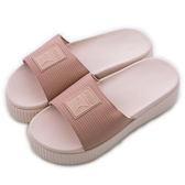 Puma PLATFORM SLIDE WNS EP  拖鞋 36612201 女 舒適 運動 休閒 新款 流行 經典