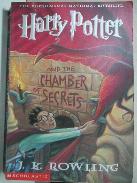 【書寶二手書T1/原文小說_COG】Harry Potter and the Chamber of Secrets_Rowling, J. K.
