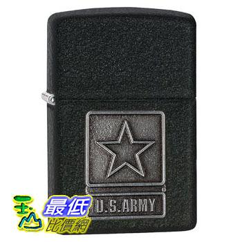 [104 美國直購] Zippo Black Crackle 1941 Replica Lighter with US Army Emblem 打火機