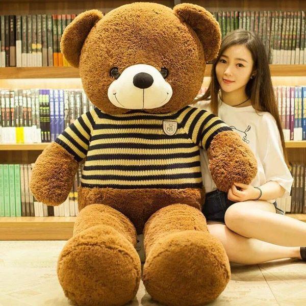 毛絨玩具熊大號泰迪熊公仔布娃娃玩偶兒童禮物送女友抱抱熊貓女生WZ3011 【極致男人】TW